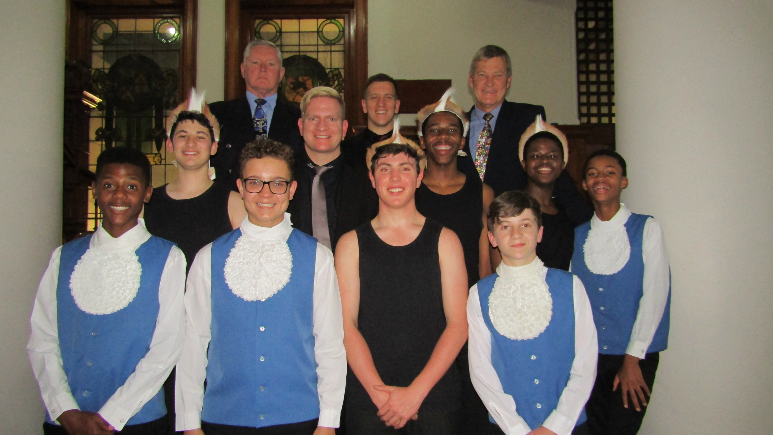Two local Choirs take audience's breath away