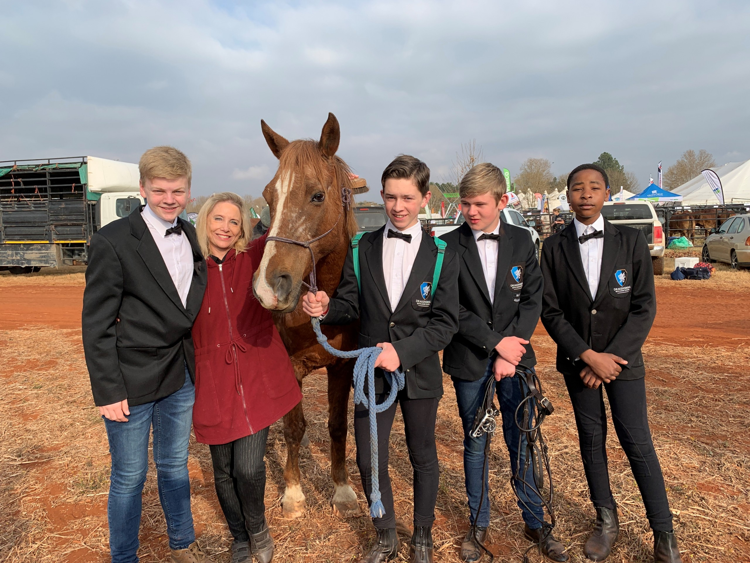DBCS takes part in first horse show